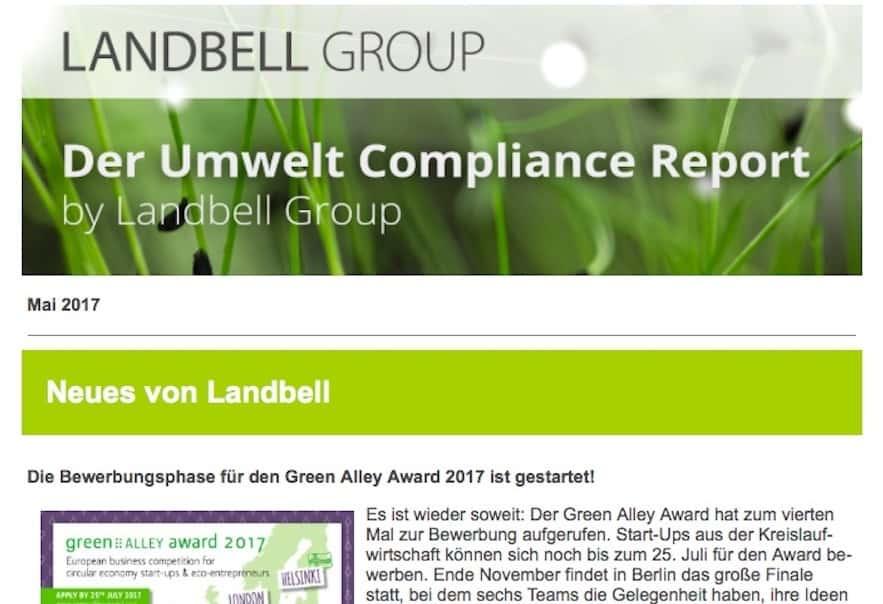environmental compliance report may 2017 - Ups Bewerbung